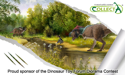 CollectA Sponsors of the Dinosaur Toy Forum Diorama Contest 2015