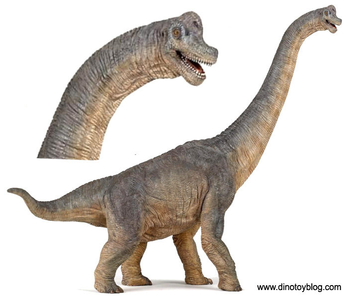 Papo Brachiosaurus, new for 2012