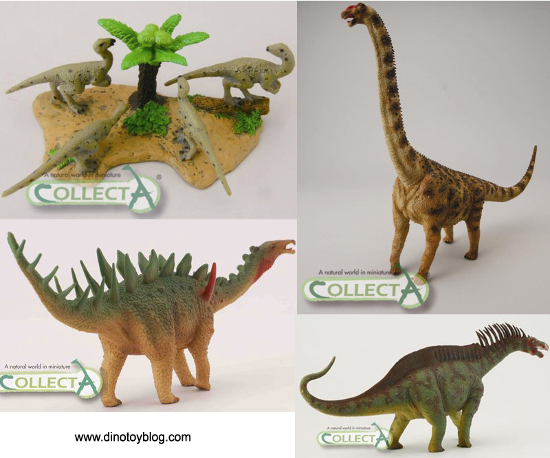 CollectA dinosaurs, new for 2012
