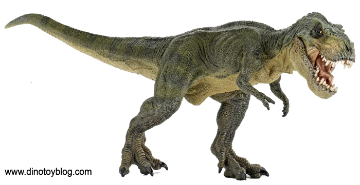 Papo T. rex resculpt, new for 2012