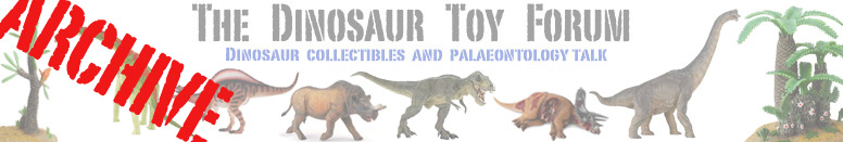 The Dinosaur Toy Forum: Version 1 Archive