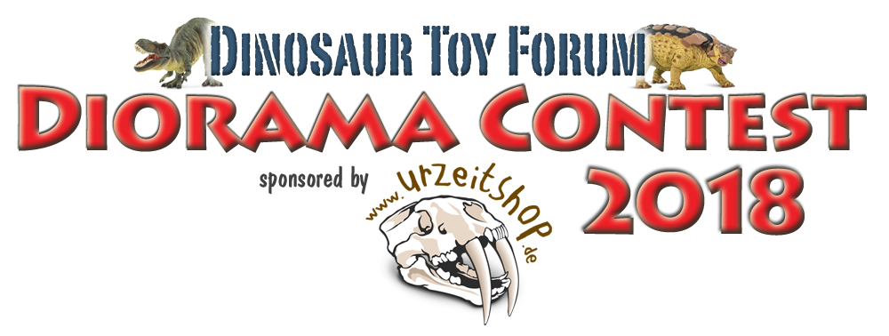 Dinoosaur Toy Forum Diorama Contest 2018, sponsored by Urzeitshop