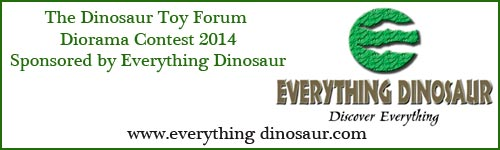 Everything Dinosaur Sponsors of the Dinosaur Toy Forum Diorama Contest 2014