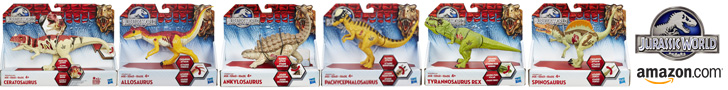 Jurassic World toys on Amazon.com
