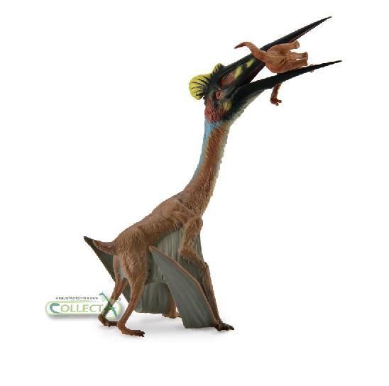 Quetzalcoatlus with baby sauropod CollectA 2014