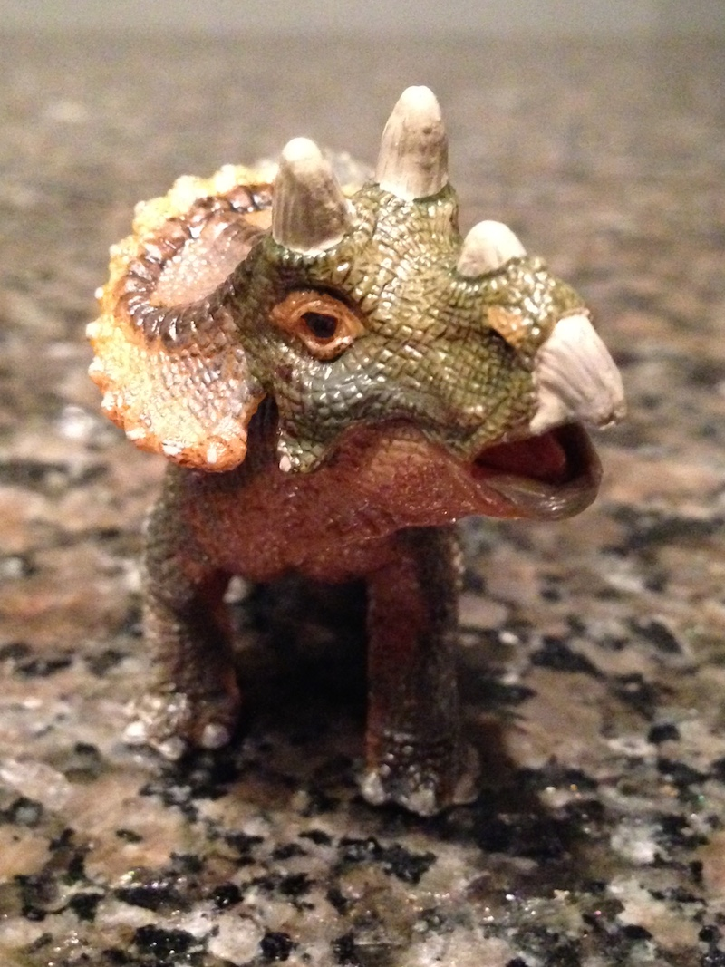 Triceratops baby Papo