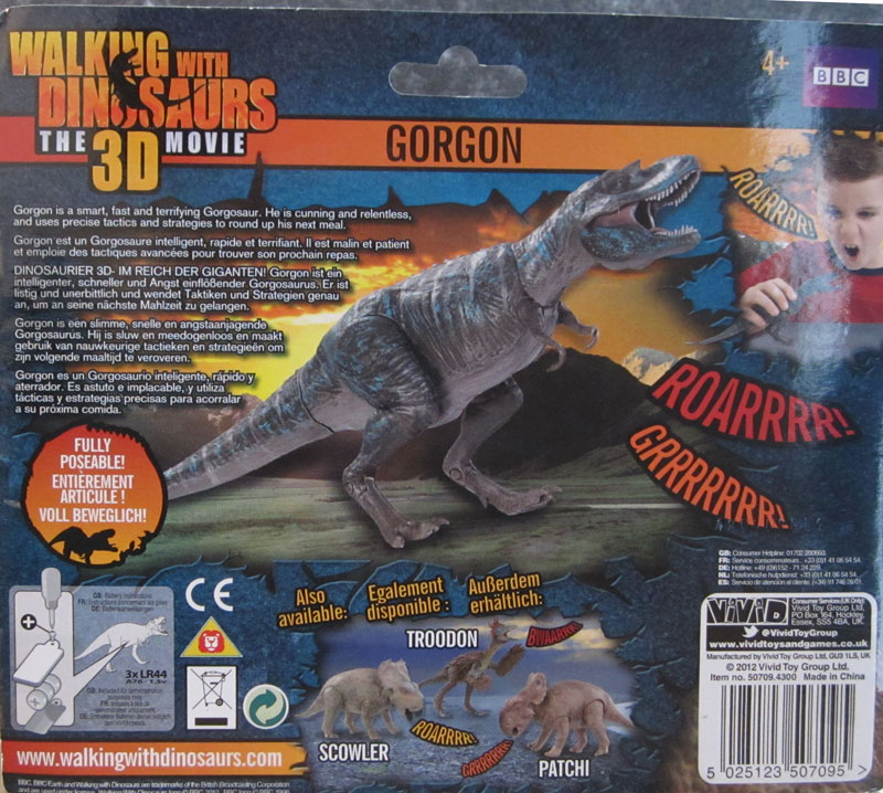 Walking With Dinosaurs 3d Toys Gorgon Gorgon (Walking with D...