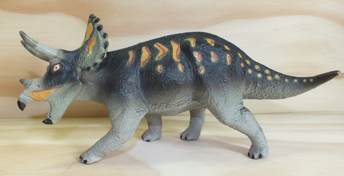 triceratops version 2 carnegie collection by safari ltd