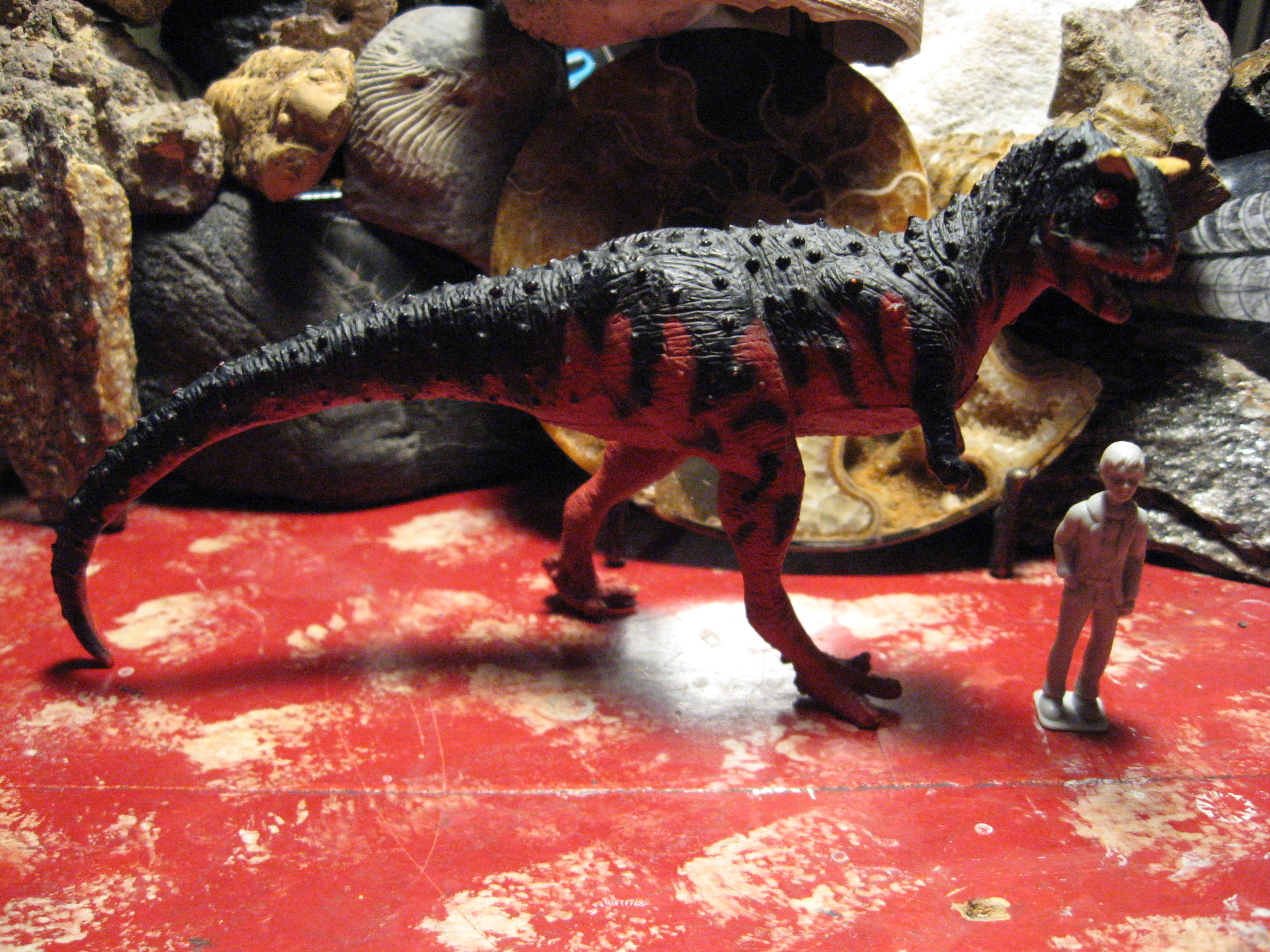 Carnotaurus (Boston Museum of Science Collection by Battat)