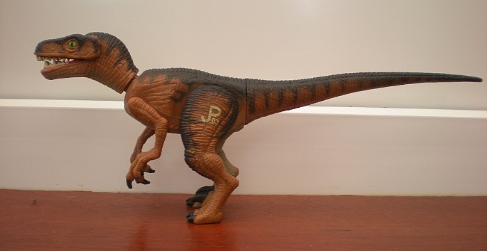 Velociraptor (other one) (Jurassic Park by Kenner ...