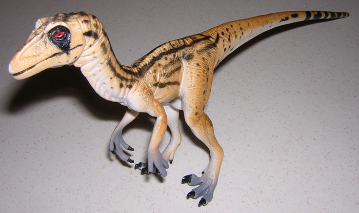 Dinosaurs Toys Collection : Utahraptor walking with dinosaurs collection by toyway