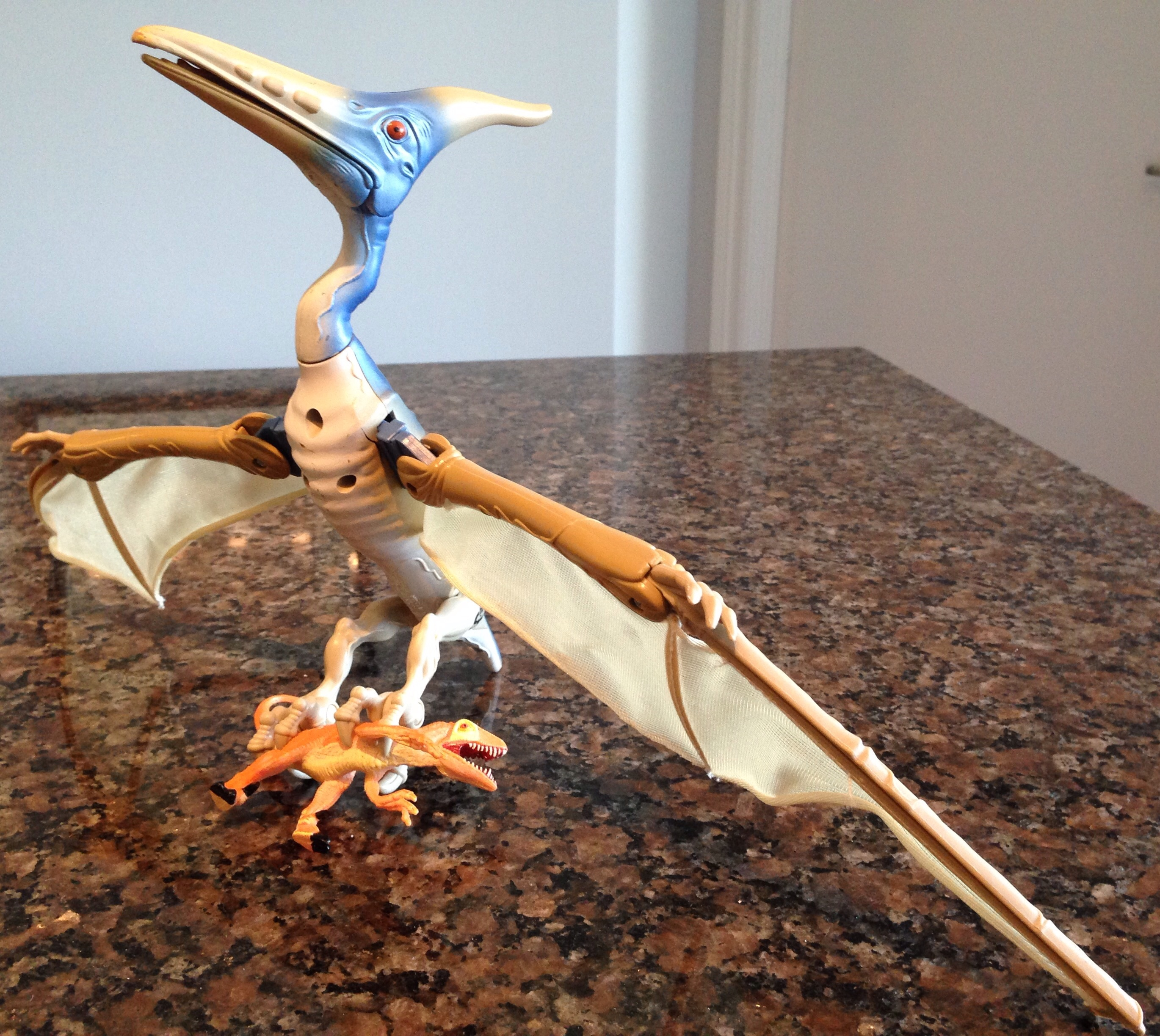 pteranodon the lost world jurassic park by kenner