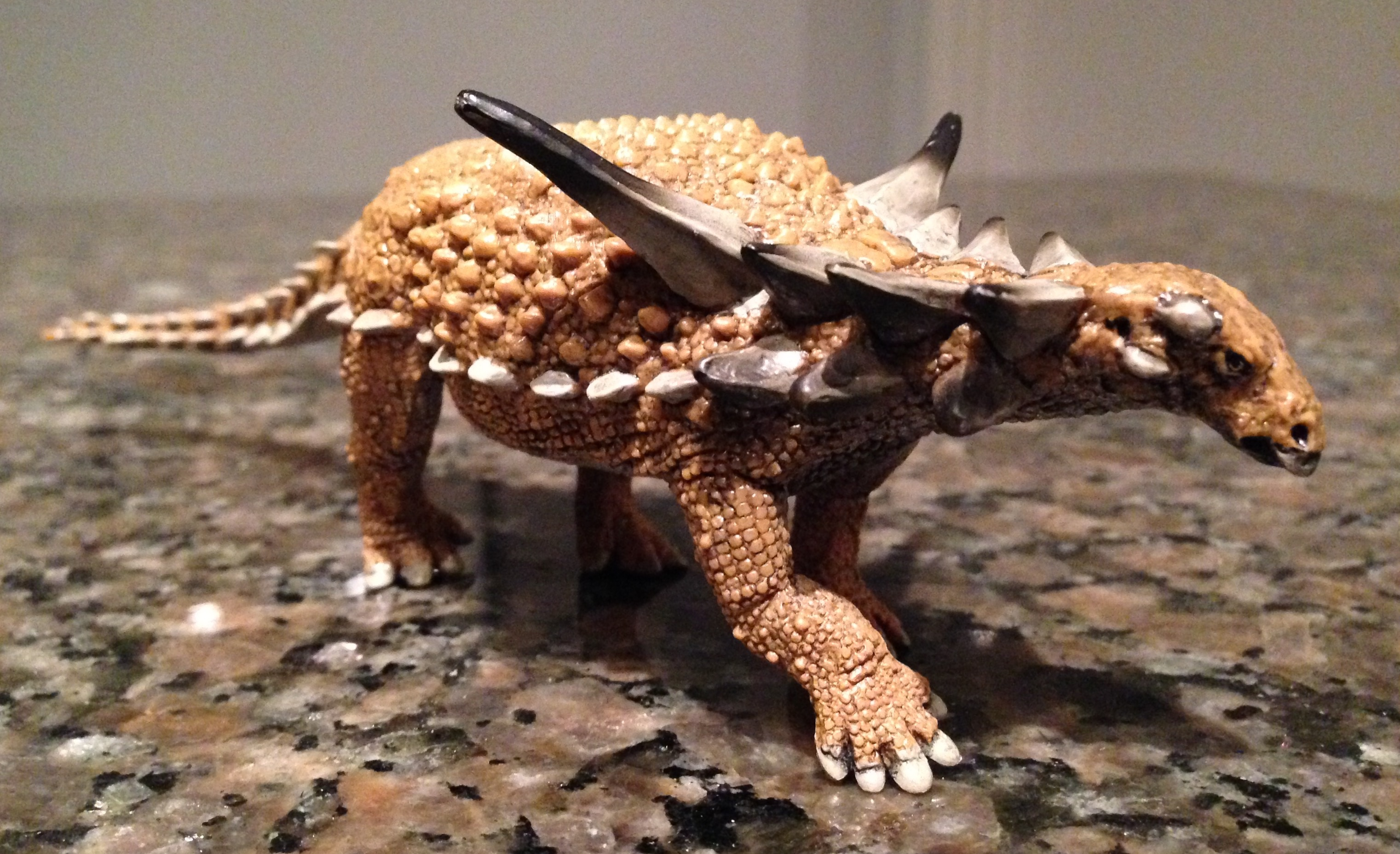 Sauropelta (Wild Safari by Safari Ltd) | Dinosaur Toy Blog