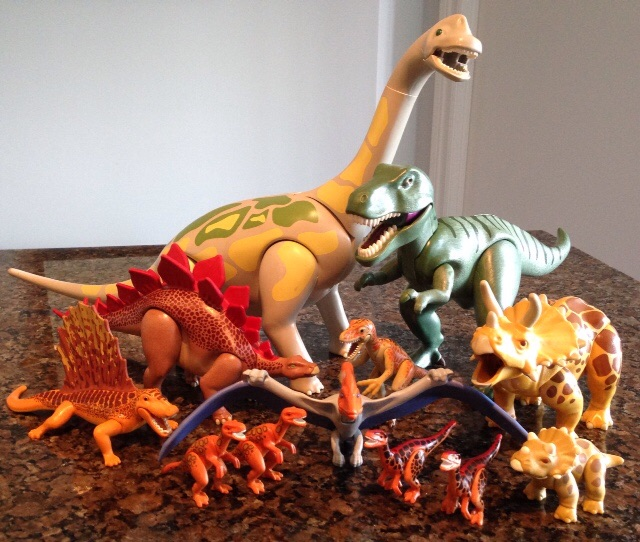 Deinonychus and velociraptors playmobil dinosaur toy blog - Dinosaur playmobile ...