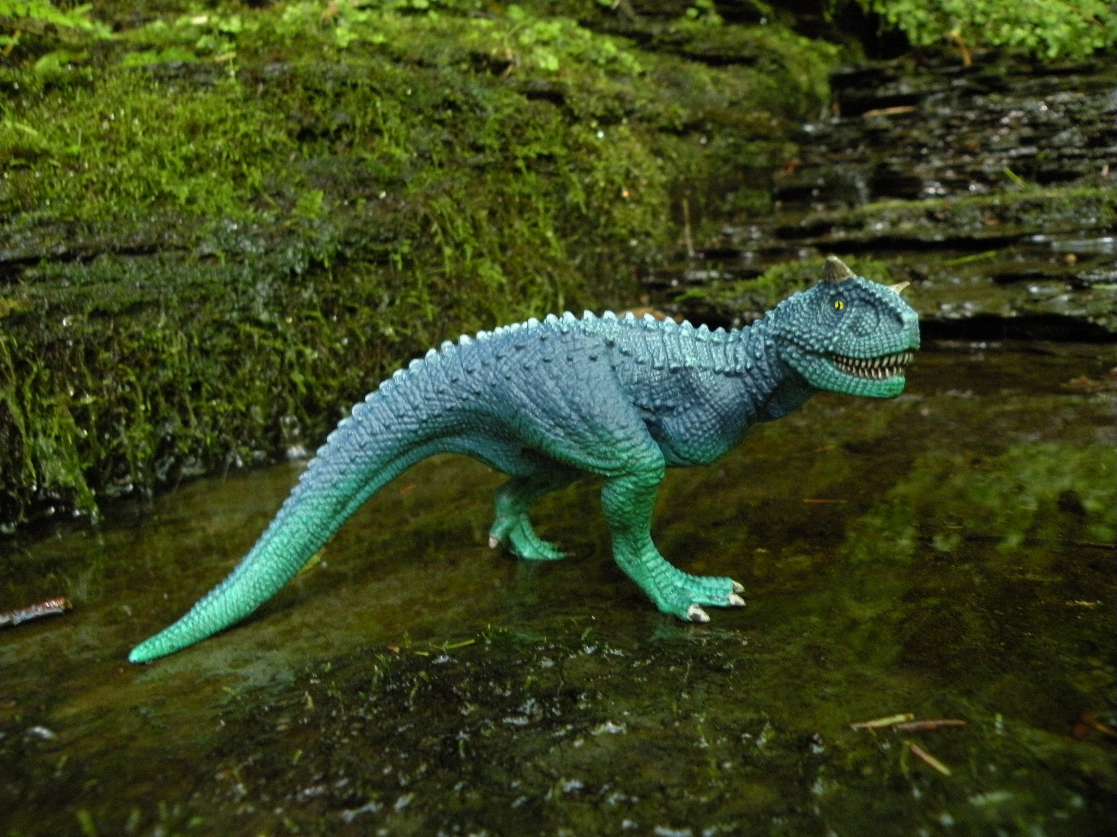 Dinosaurs Toys Collection : Carnotaurus mini dinosaur collection by schleich