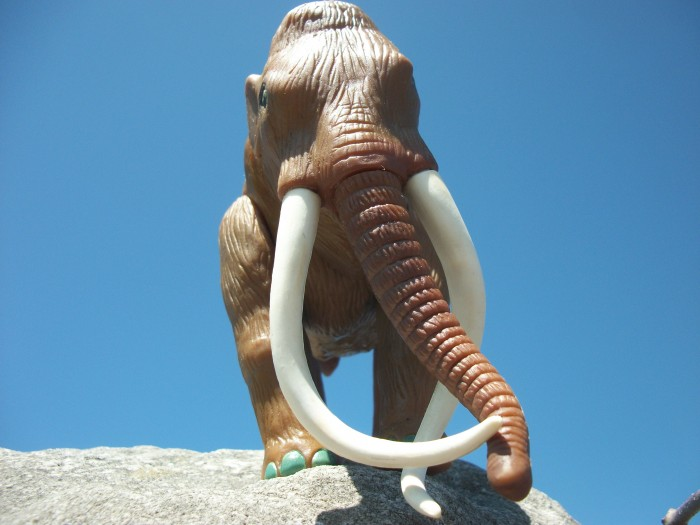 Woolly Mammoth  HG toys 4