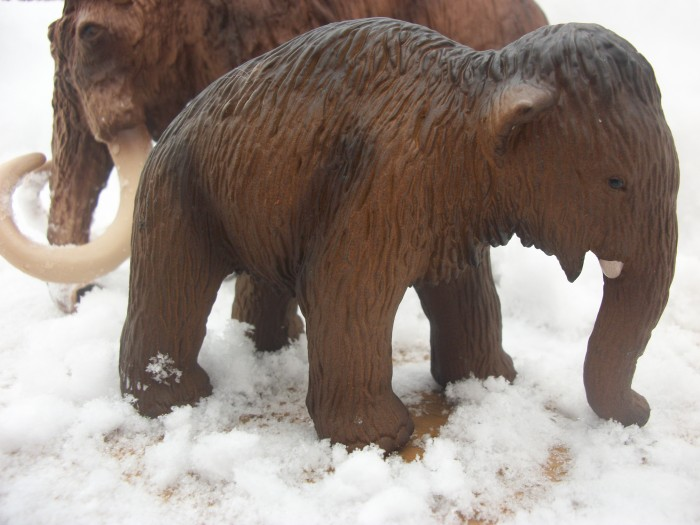 Schleich woolly Mammoth baby 3