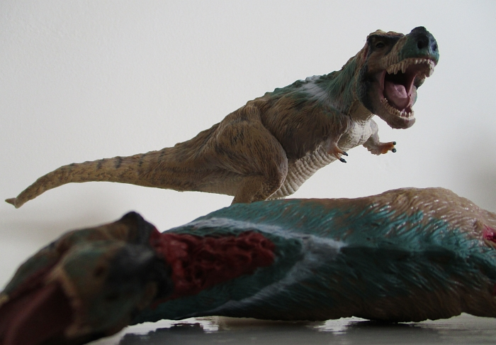 Collecta Hunting Tyrannosaurus with Corpse