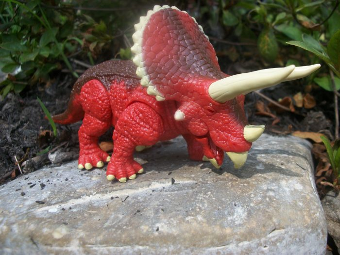Triceratops mighty wheels 2
